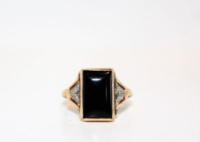 ladies-14kyg-black-onyx-ring-size-6-395