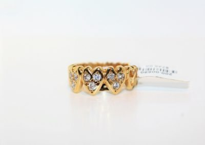 ladies-size-6-heart-pattern-diamond-14kyg-ring