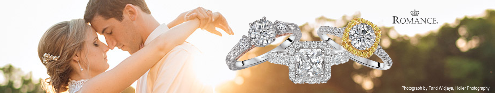 Engagement Rings Romance Banner