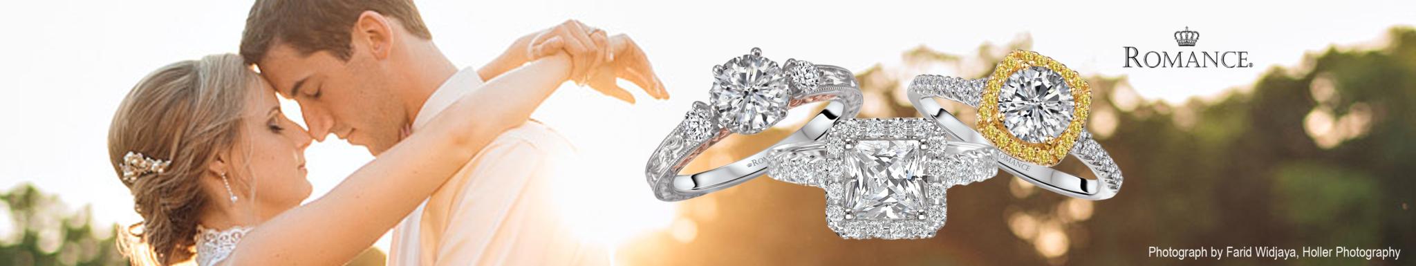 Engagement Rings Romance Banner